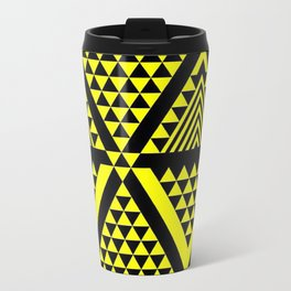 Black & Yellow Travel Mug