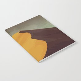 Athabasca Sand Dunes Poster Notebook