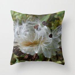 Fluff1 Throw Pillow