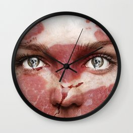 Meat Face Wall Clock