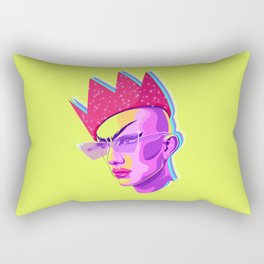 QUEEN SASHA VELOUR Rectangular Pillow