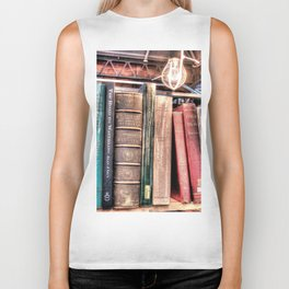 Books Biker Tank