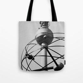Berlin World Clock Tote Bag