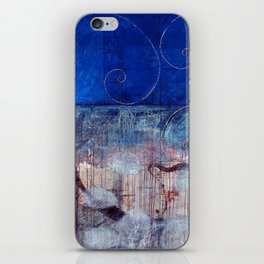 Chicxulub - Bluer version iPhone Skin