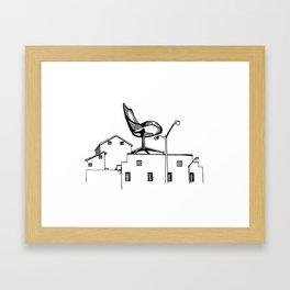 Chair on Factory Framed Art Print