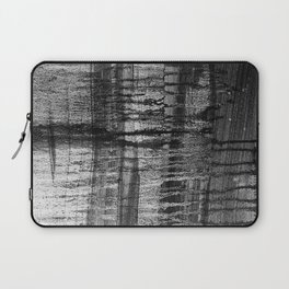 Grayscale Stains Laptop Sleeve