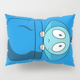 Aquamarine Pocket Tee Pillow Sham