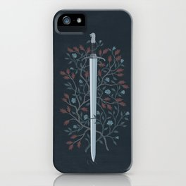 Fire and Ice iPhone Case