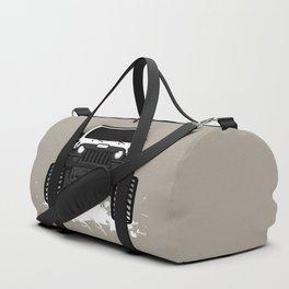 sasquatch 'White' Duffle Bag