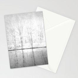 Snow Scene 3 Stationery Cards