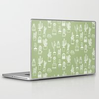 cactus Laptop & iPad Skins featuring Cactus  by Chee Sim