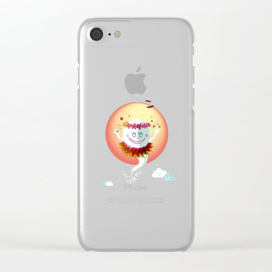 Fiorelina Clear iPhone Case