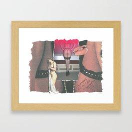 Modern Girls Framed Art Print