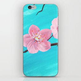 Japanese Cherry Blossoms iPhone Skin