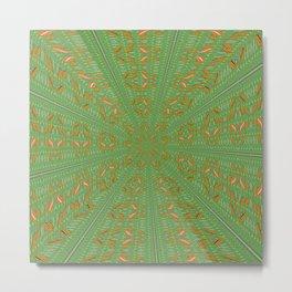 Jj - pattern 2, falling ... Metal Print