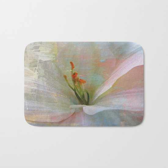 Painted Lily Bath Mat