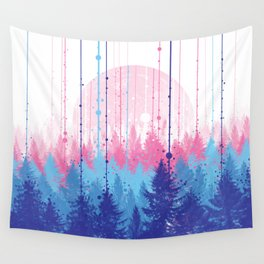 rainy forest 2 Wall Tapestry
