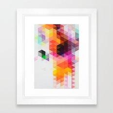 Rainfall 01 Framed Art Print
