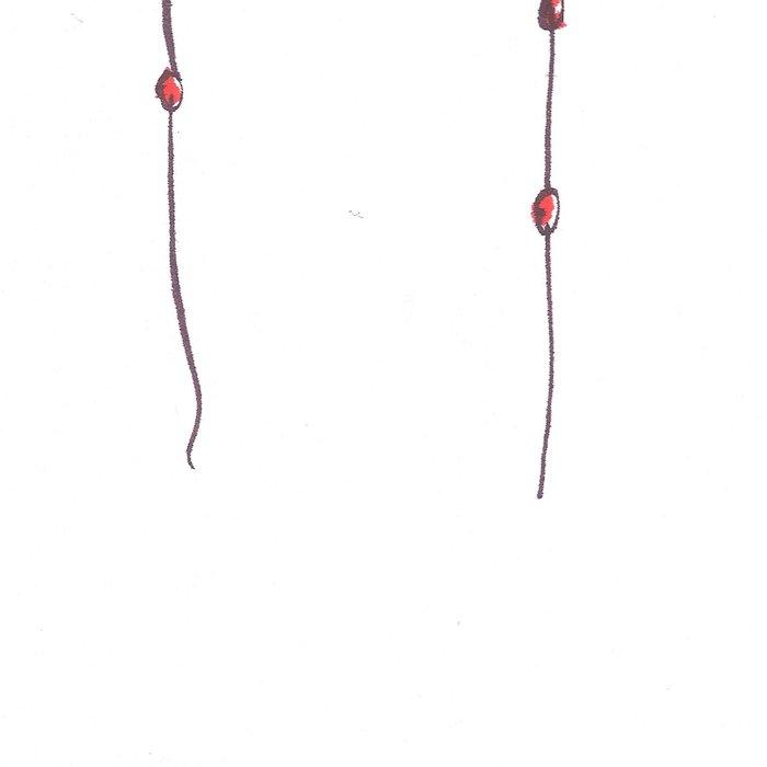 Nodules 7 | Line Art Drawings Leggings