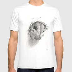 Pickaboo! White Mens Fitted Tee MEDIUM
