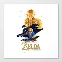 Zelda Breath of the Wild - The Silent Princess Canvas Print