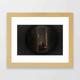 Opa Romantic Solo Restourant Dinning  Framed Art Print