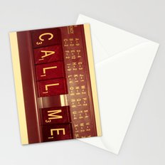 Call Me, Call Me Any Anytime Stationery Cards