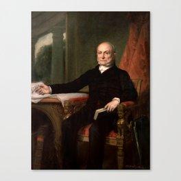 President John Quincy Adams Painting Canvas Print