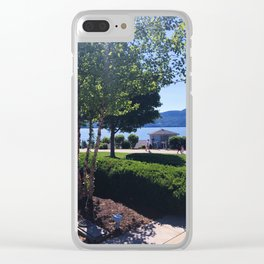 The Sagamore at Lake George - view 3 Clear iPhone Case