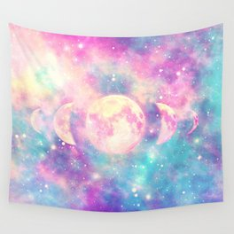 Tales Of The Moon Wall Tapestry