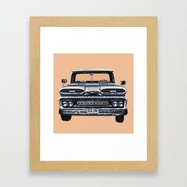 carro 3 Framed Art Print