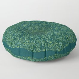 Mandala Vintage decorative element. Floor Pillow