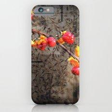 Fields Of Red Berries iPhone 6s Slim Case