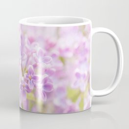 Lilac Flowers Mist Coffee Mug