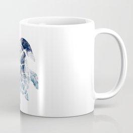 Sea Turtle - Blue Ocean Waves Coffee Mug