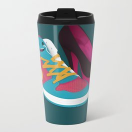 Shoe Lovin' Metal Travel Mug