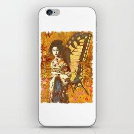 Vintage Geisha Artwork iPhone Skin