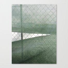 Fence Study I Canvas Print