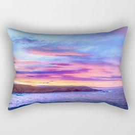 Biscay Bay sunset Rectangular Pillow