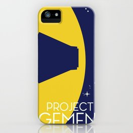 Project Gemini Space Art poster iPhone Case