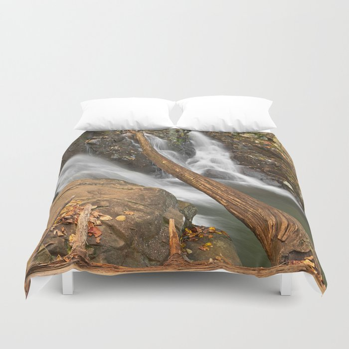 Rose River Falls Duvet Cover
