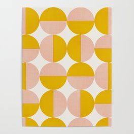 Abstraction_Circles_Art Poster