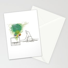 Record Playing Stationery Cards
