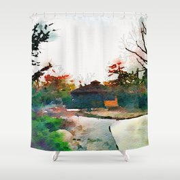 Ol' Country Side Shower Curtain