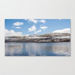 Norwegian lake Canvas Print