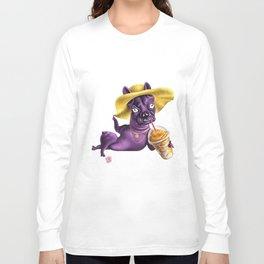 Fancy Frenchie Long Sleeve T-shirt