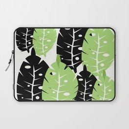 Big Modern Leaf Laptop Sleeve