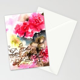Roses Card Stationery Cards
