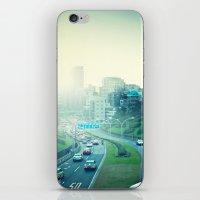 tokyo iPhone & iPod Skins featuring Tokyo by Xavier Arnau