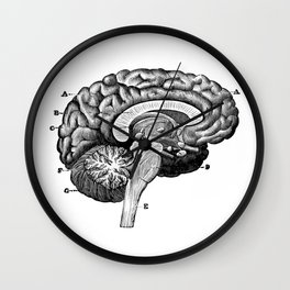 Brain 2 Wall Clock